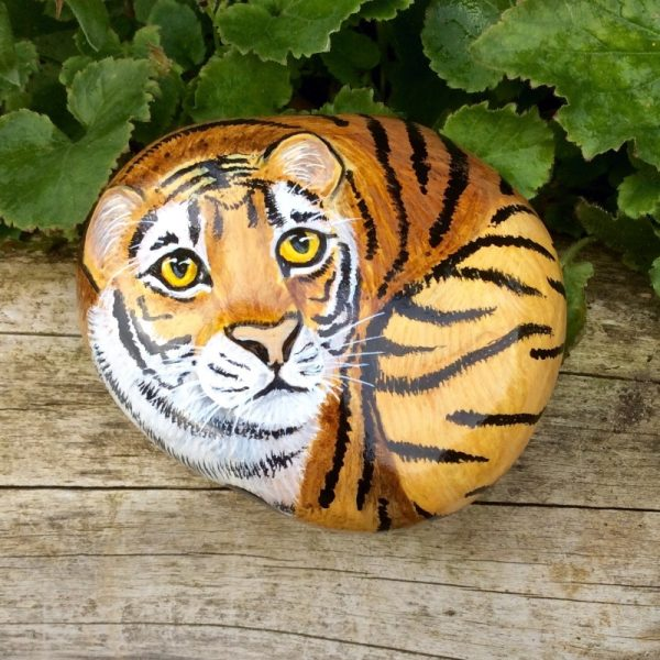 Animal Painted Rocks Ideas