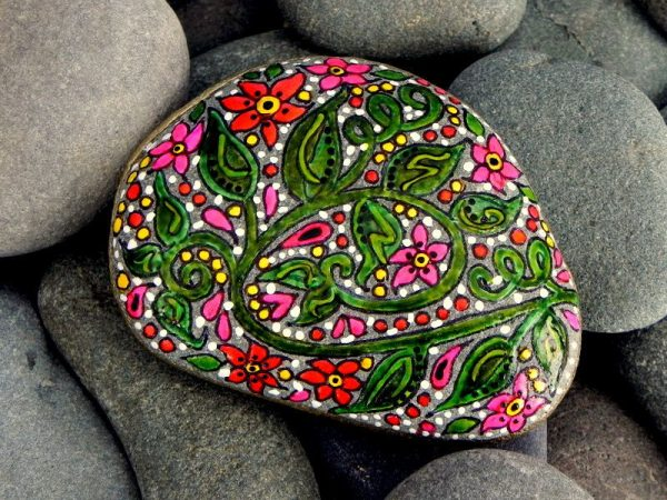 rock painting ideas inspiration Artistic Painting