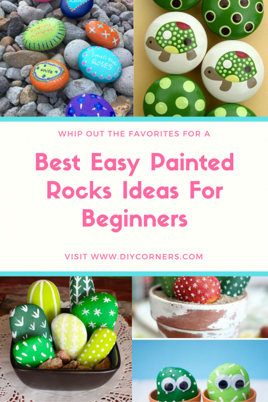 Best Easy Painted Rocks Ideas For Beginners