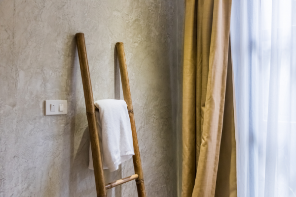 bathroom Ladder Towel Rack