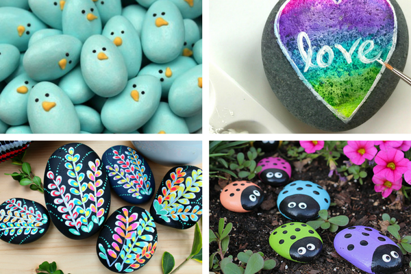 easy rock painting tutorials