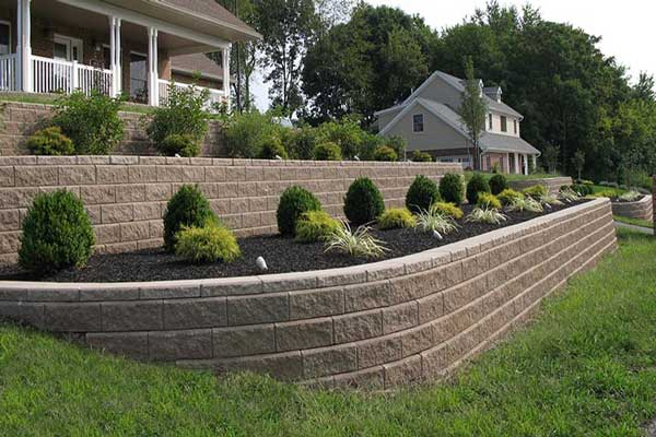 front yard landscaping plans Garden Walls