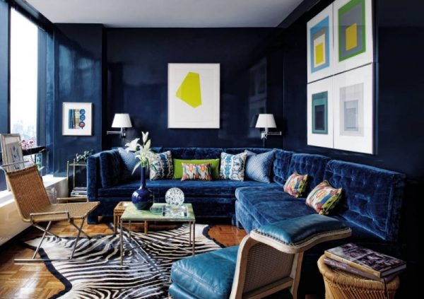 living room ideas on a budget Velvet Sofa