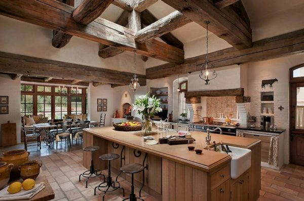 modern country kitchen ideas Kitchen area