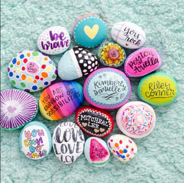 rock painting ideas inspiration