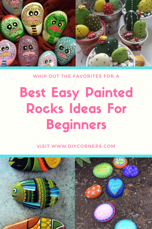 Rock Painting Inspirational & Stone Art