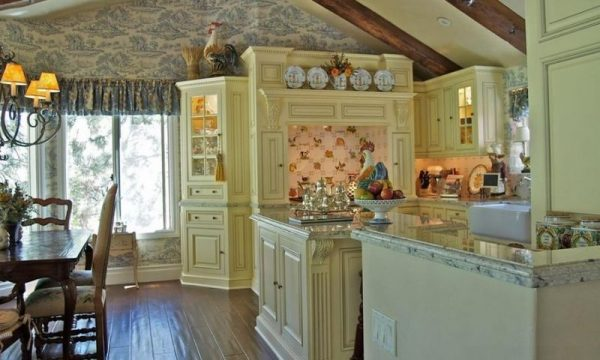 rustic country kitchens Color Up