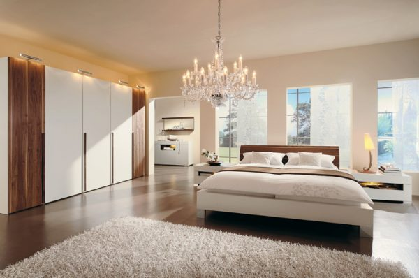 simple bedroom decorating ideas Chandeliers or Dimmers
