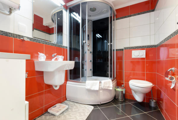 bathroom Create a Focal Wall