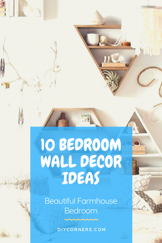 Farmhouse Bedroom Wall Decor Ideas and Design For Small Rooms