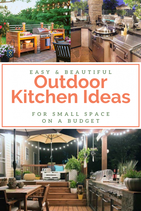 Best Amazing Outdoor Kitchen Ideas Design For Small Space ...