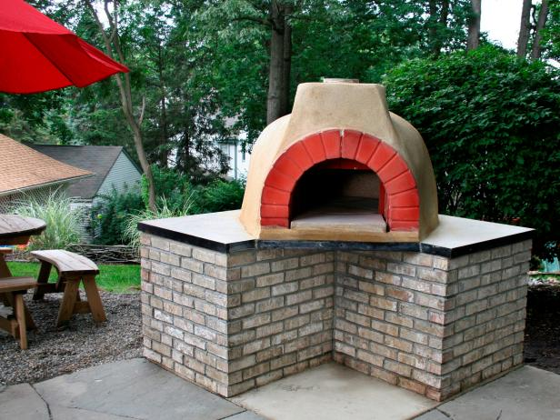Outdoor Kitchen Ideas Pizza Ovens