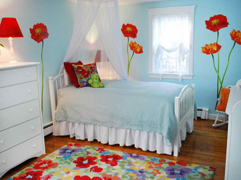 Wall Decoration Ideas Bedroom Floral Décor