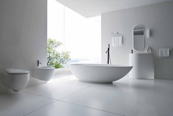 small bathroom ideas on a budget Simplistic Style