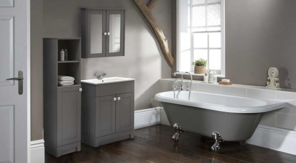 small bathroom ideas photo gallery Freestanding and Multi
