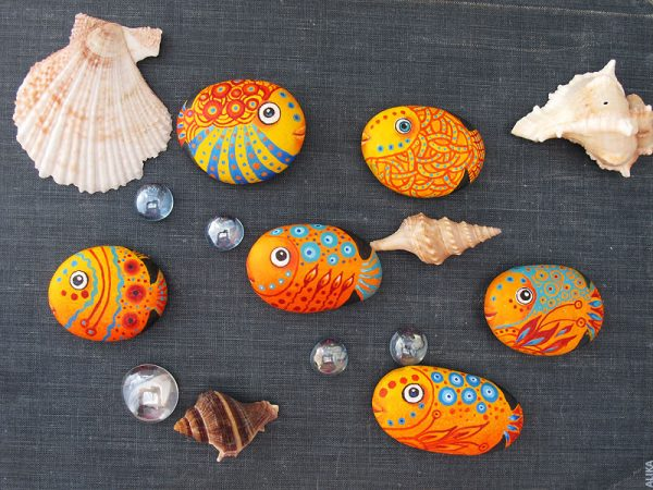 Animal Painted Ideas to Get Realistic Animals on Rocks