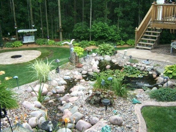 Backyard Rock Garden Best Rock Yard Ideas