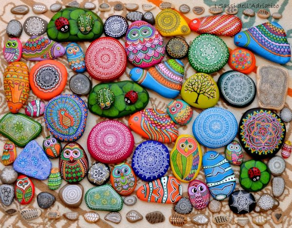 Best Animal Painted Rocks ideas