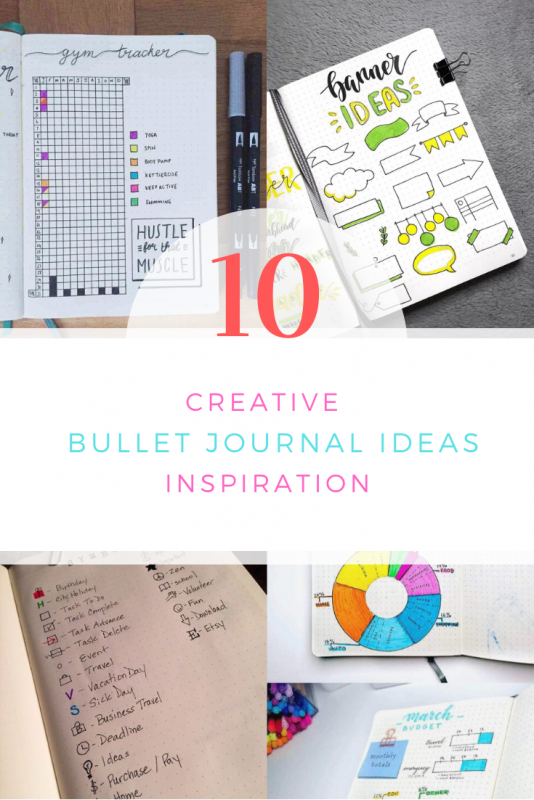 Creative Bullet Journal Ideas Inspiration