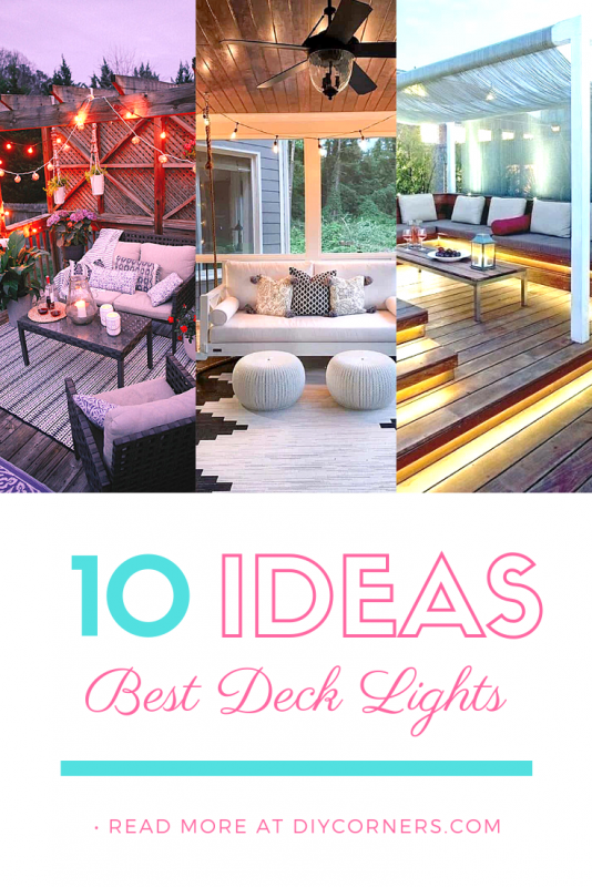 Best Small Deck Ideas With Lights