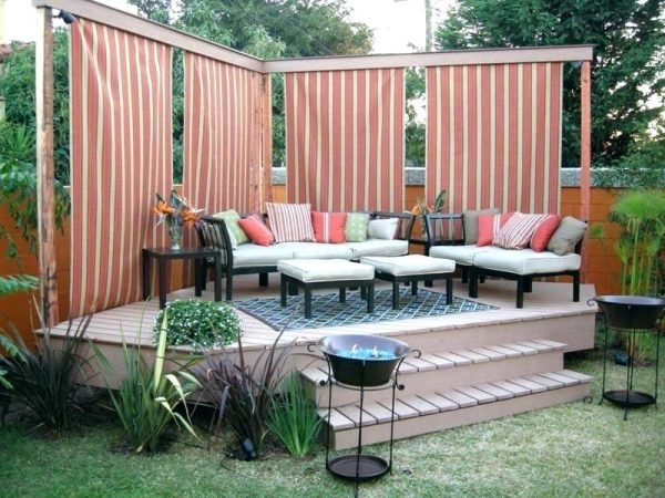 Deck Privacy Screen ideas