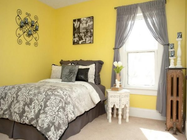 Farmhouse Bedroom Ideas Buttery Yellow