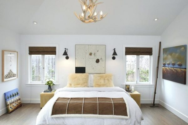 Farmhouse BedroomWall Sconces
