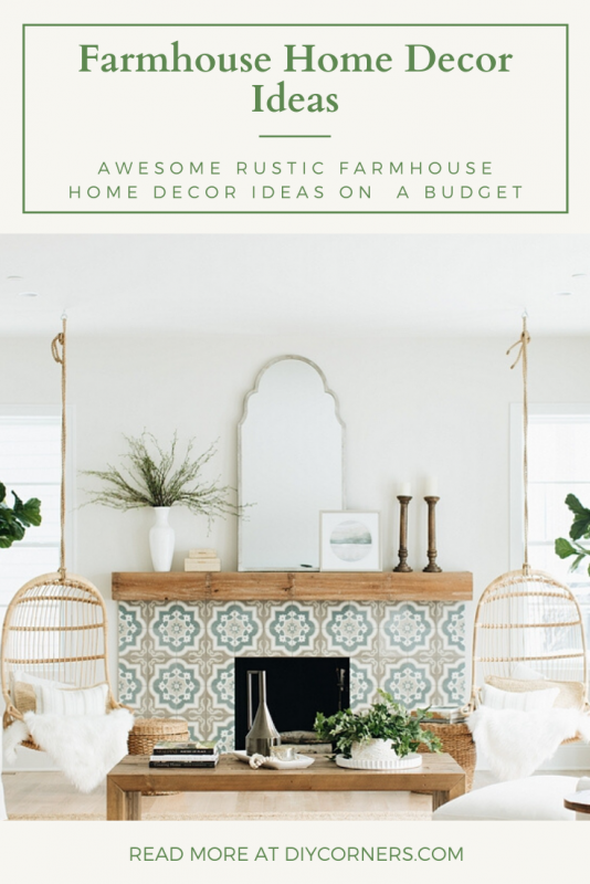 Awesome Rustic Farmhouse Home Decor Ideas on A Budget