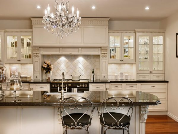 Kitchen Crystal chandelier