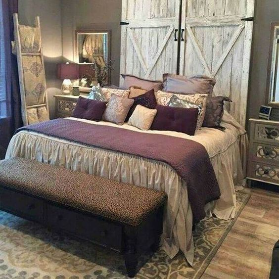 Royal Country Farmhouse Bedroom Style