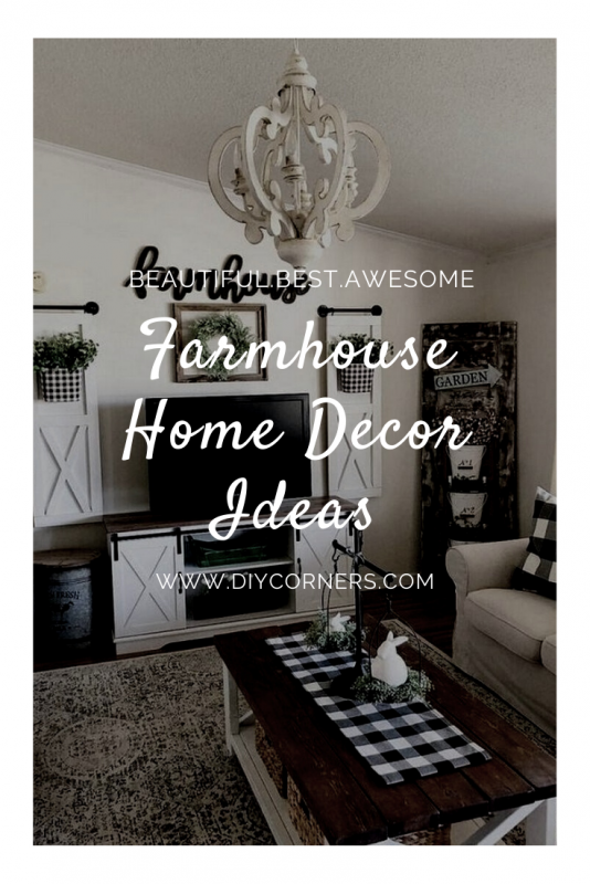 beautiful Rustic Farmhouse Home Decor Ideas