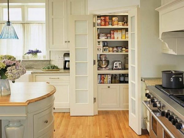 Small Kitchen Storage Ideas Sliding Doors