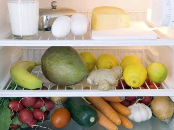 Store Food in the Fridge Properly