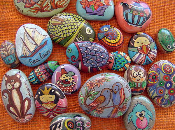 animals painted rocks ideas
