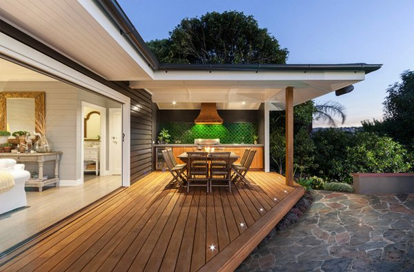backyard deck lights ideas on a budget