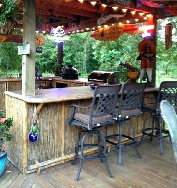 front porch decorating ideas on a budget Set Up A Bar