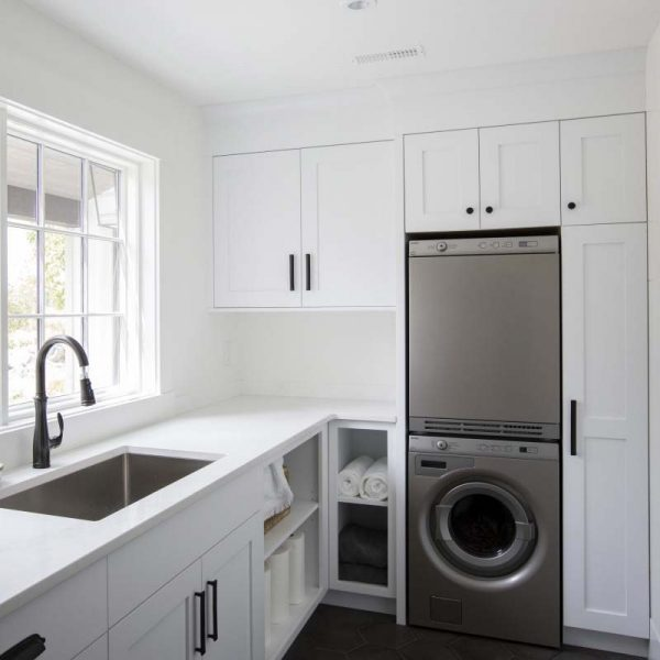 laundry room ideas on a budget Bright Transformation