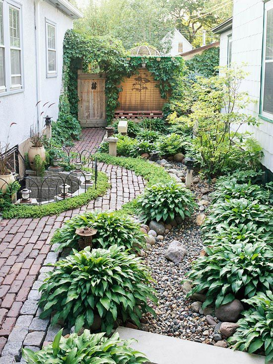 yard Make a Flower Bed without a Fence
